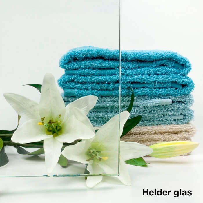 Taatsdeur op maat van helder glas