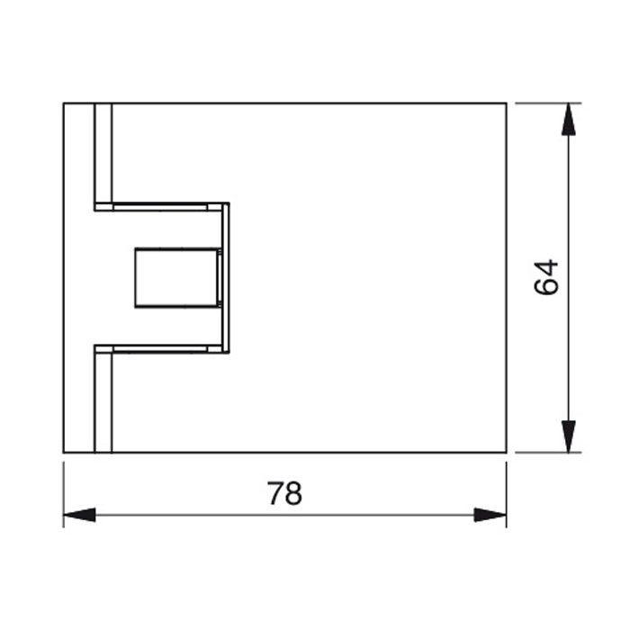 Douchescharnier XL 148130