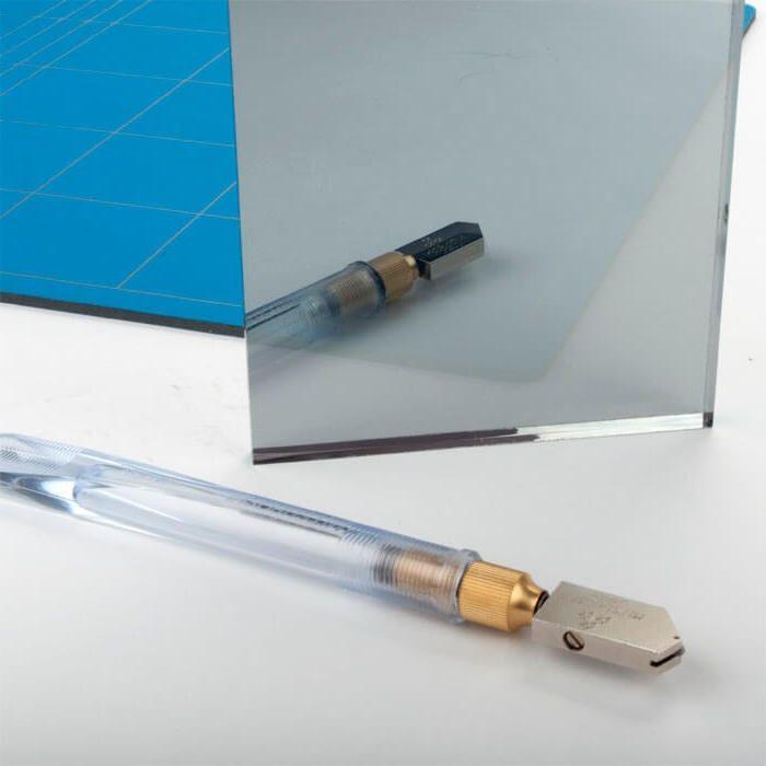 Mirroview 6mm gehard glas