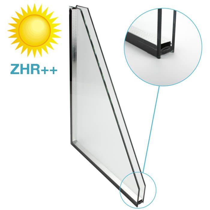 Zonwerend glas ZHR++ standaard