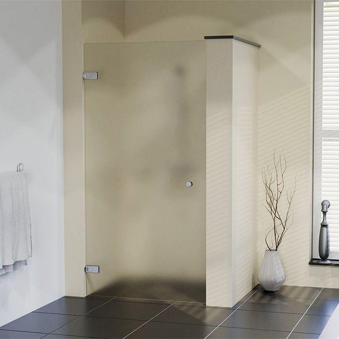 Douchedeur op maat XL met matglas