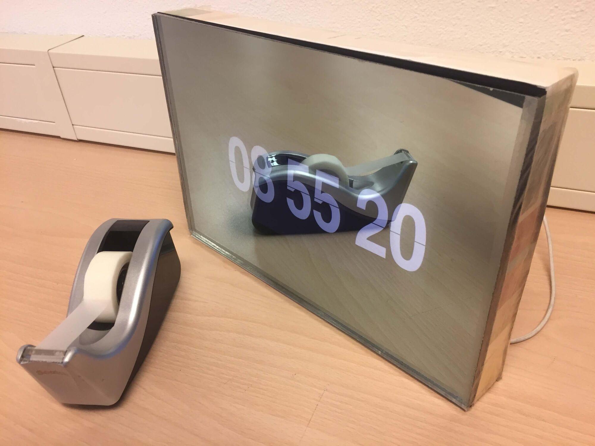 Mirroview 6mm enkel glas