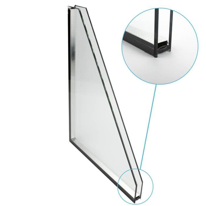 Dubbel glas standaard 2-zijdig gelaagd
